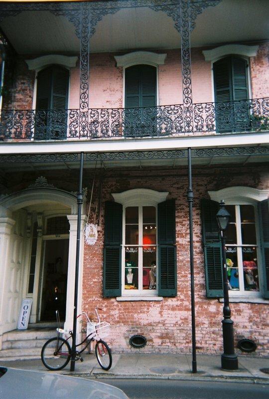 New Orleans Shop front