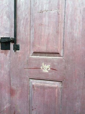 Door of French freemason