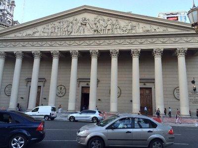 Cathedral imitation of Pantheon