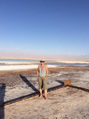 Salt lagoon