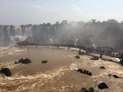 Iguassu Falls Brazil side
