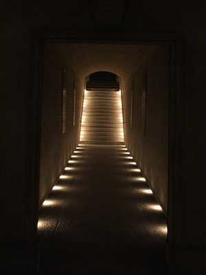 Invalides, Stairs leading from the door of the Crypt