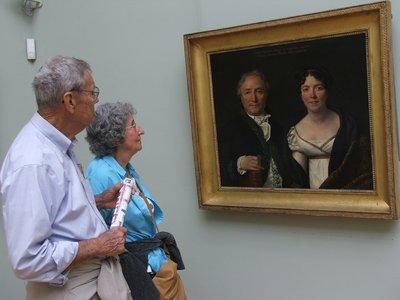 Mirror Image, Louvre Museum