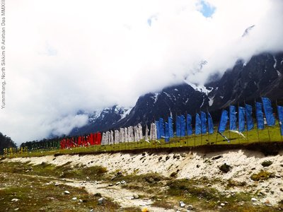 Yumthang Valley in North Sikkim, India