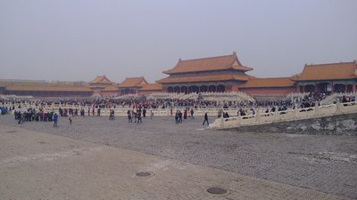 The Forbidden City from the inside