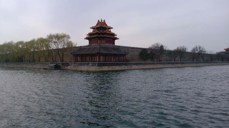Canals around the Forbidden City