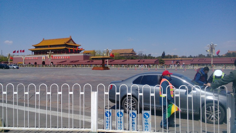 The Forbidden City on a Sunny Day