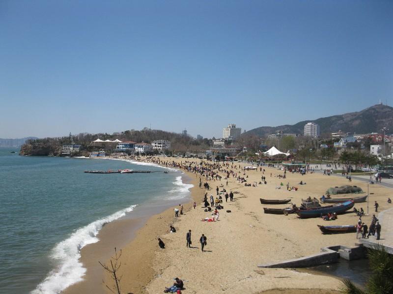 Dalian sandy beach