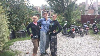 So fashionable (Tricia, me & Aliska)