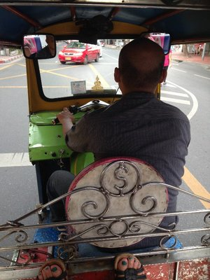 On the road with tuktuk