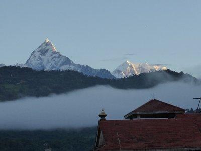 Annapurna at sunset