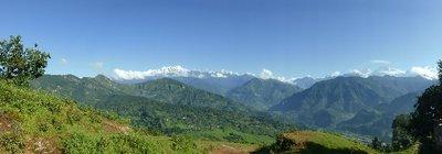 View from gaunsahar