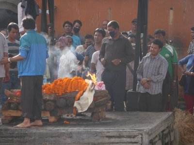 Cremation at ghats