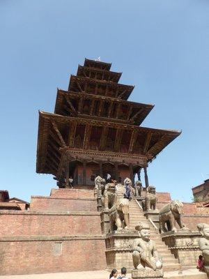 Five storey Nyatapola Temple