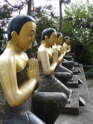 Boudha statues