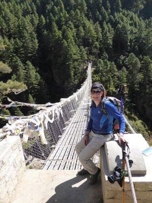 I survived the suspension bridges