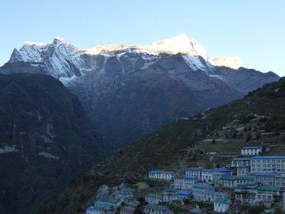 Namche Bazaar - kongde RI peak 6.187m