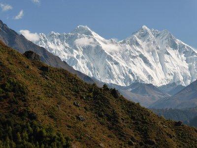 Nuptse Everest Lhotse
