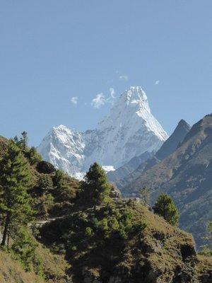 Favourite mountain of the guide: Ama Dablam 6.812m