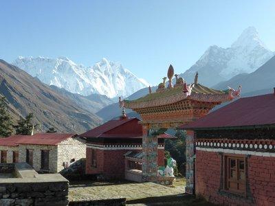 Tengboche 3.860m (Nuptse-Everest-Lhotse)