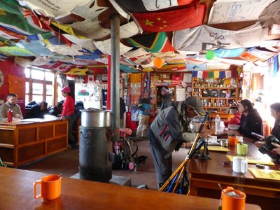 Highest guesthouse: Gorak Shep