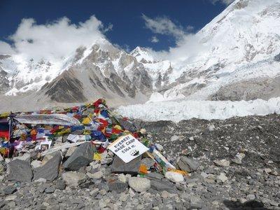 Everest base camp 5.364m