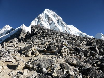 Heading up Kala Pattar - Pumori 7.161m