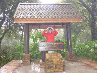 Me on highest point in thailand