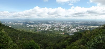 Panorama from Do I Suthep temple