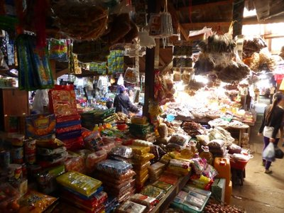 Typical Myanmar market
