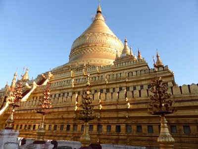 Shwezigon - early period stupa