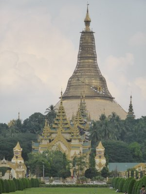 Shwedagon Paya - west side (renovating)
