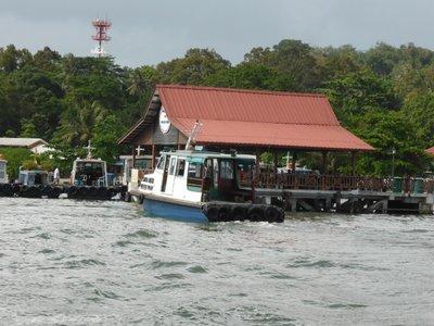 Pulau Ubin harbour