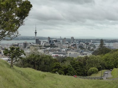 View from Eden hill on Auckland city