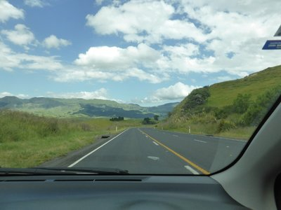 Road between Taupo and Napier