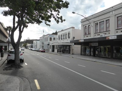 Art Deco city Napier