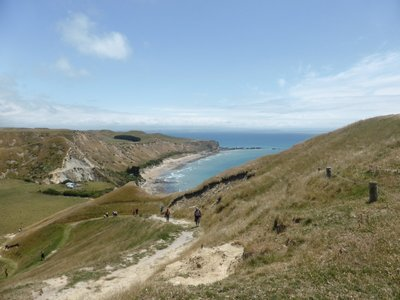 View from cape kidnappers
