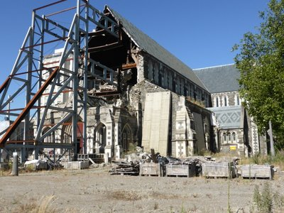 Cathedral destroyed