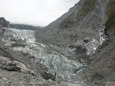 Close to Fox glacier