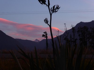 Sunset Haast