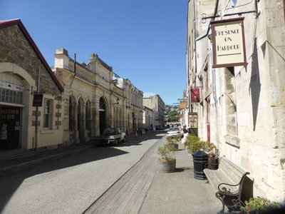 Historical centre of Oamaru