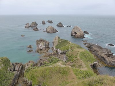 Nugget point view