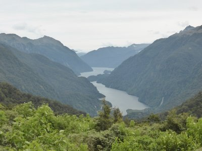 Doubtful sound view from Wilmot pass