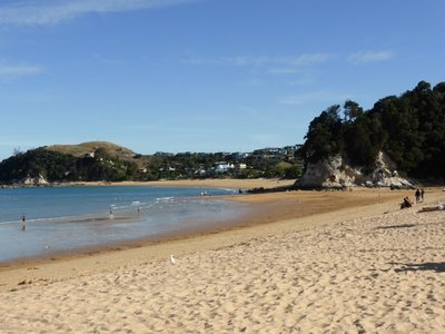 Golden beach at  Kaiteriteri