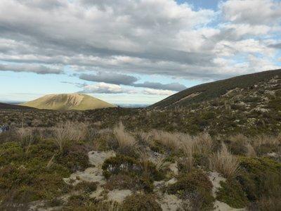 View on Tongariro crossing