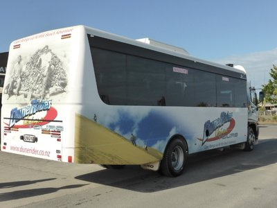 Our huge cape runner bus