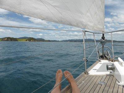 I love sailing !