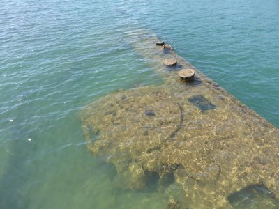 Sunken USS Arizona