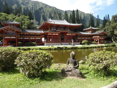 Byodo-In temple (replica)