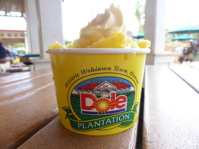 Pineapple icecream